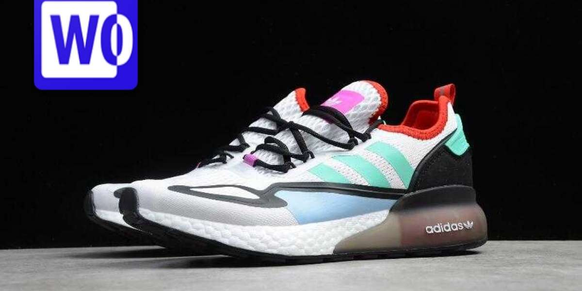2020 Adidas ZX 2K Boost White Black Red Green is Available Now