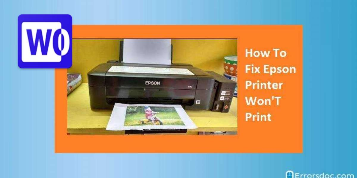 How To Fix Epson Printer Not Printing