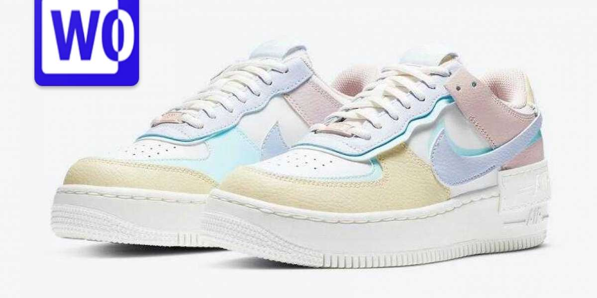 Latest Nike Air Force 1 Shadow Release With Easter Pastels