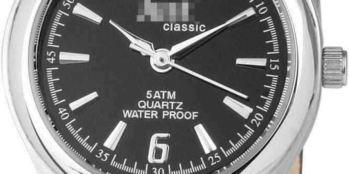 Customize Affordable Luxury Black Watch Face