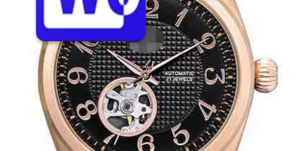 Affordable Designer Customize Brown Watch Face