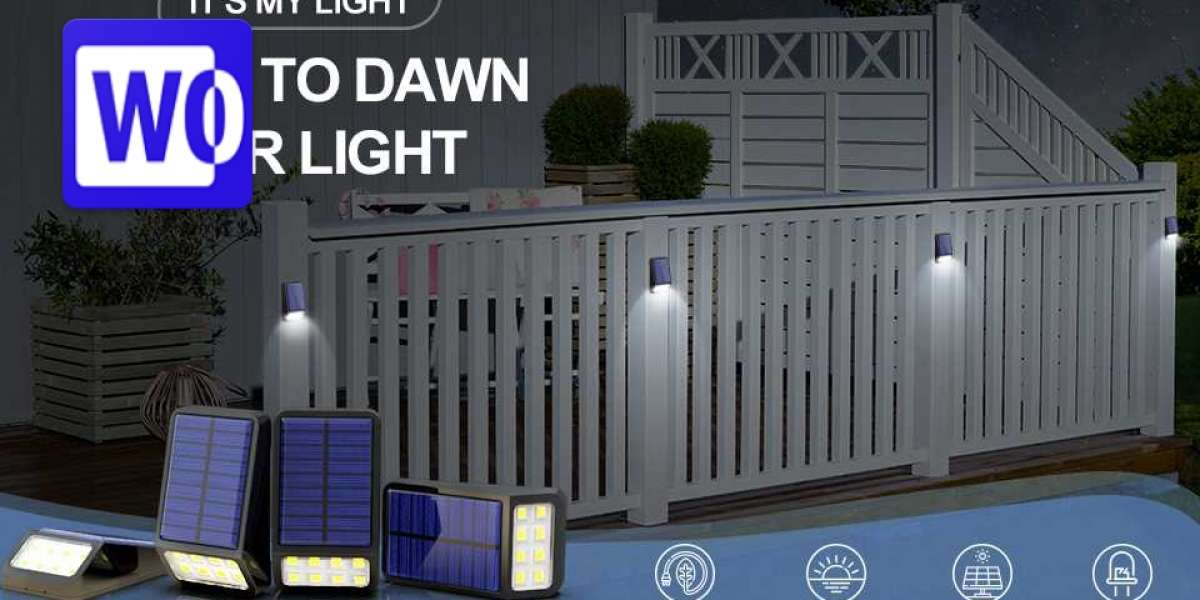 Appreciate A Calm And Rich Atmosphere During Evening Time With This Dusk To Dawn Solar Light!